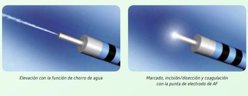 HybridKnife  para Disección Endoscópica Submucosa
